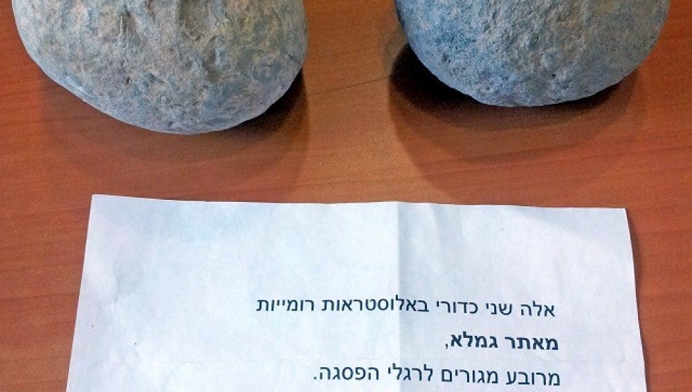 Las piezas arqueológicas devueltas