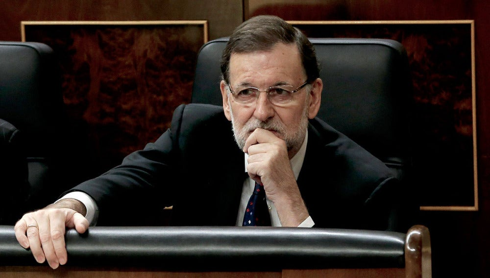 Mariano Rajoy, en el Congreso de los Diputados