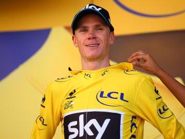 Chris Froome, líder del Tour de Francia