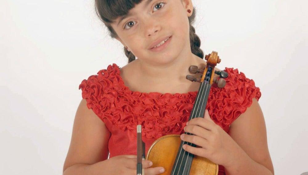 La violinista Jennifer Panebianco