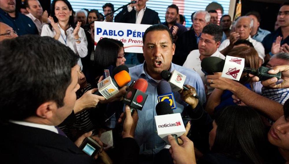 Pablo Pérez, exgobernador del estado de Zulia