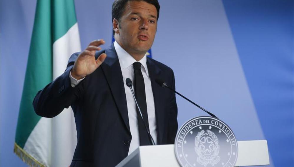 Renzi estima aprobar la ley de uniones homosexuales a fines de año