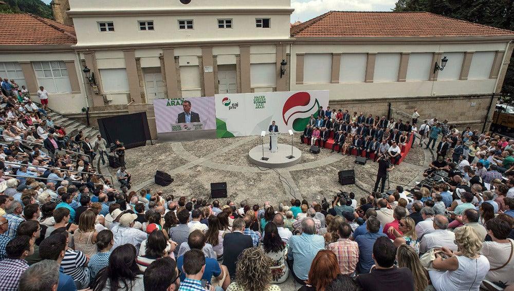 Acto del 120º aniversario de la fundación del PNV