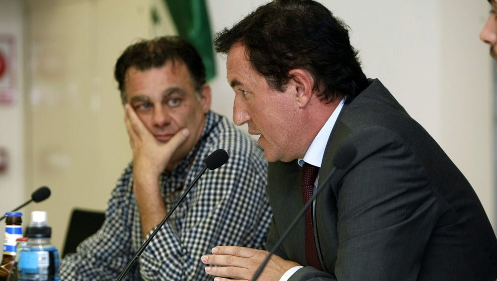 El presidente del Elche, Juan Anguix
