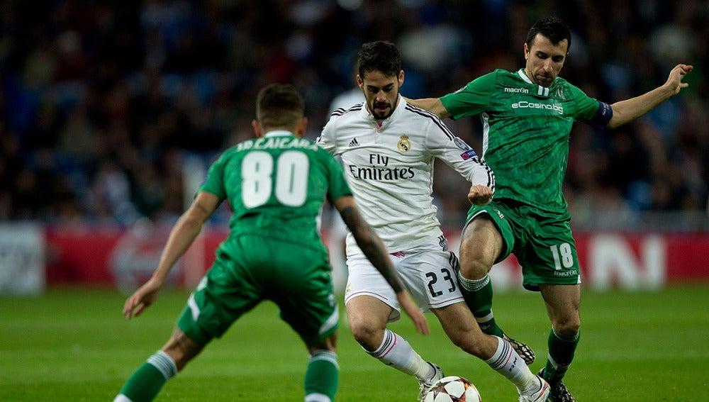 El Ludogorets se enfrentó al Madrid en la pasada edición de la Champions