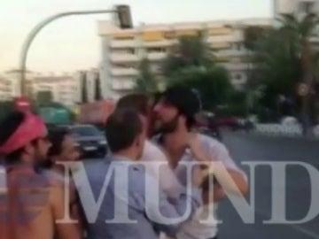 """Higuaín responde a golpes a una provocación en Ibiza: """"¡Borra el vídeo o te arranco la cabeza!"""""""