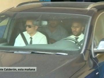 Filipe Luis, en el Calderón para cerrar su fichaje