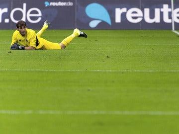 Iker Casillas, durante el partido
