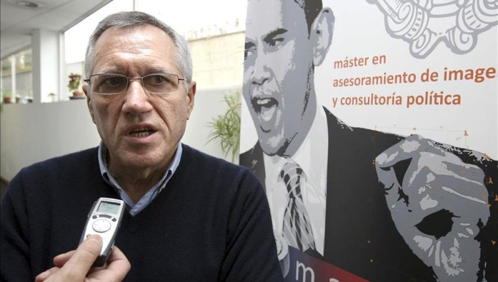 El catedrático de la Universidad del País Vasco y fundador del Euskobarómetro, Francisco Llera