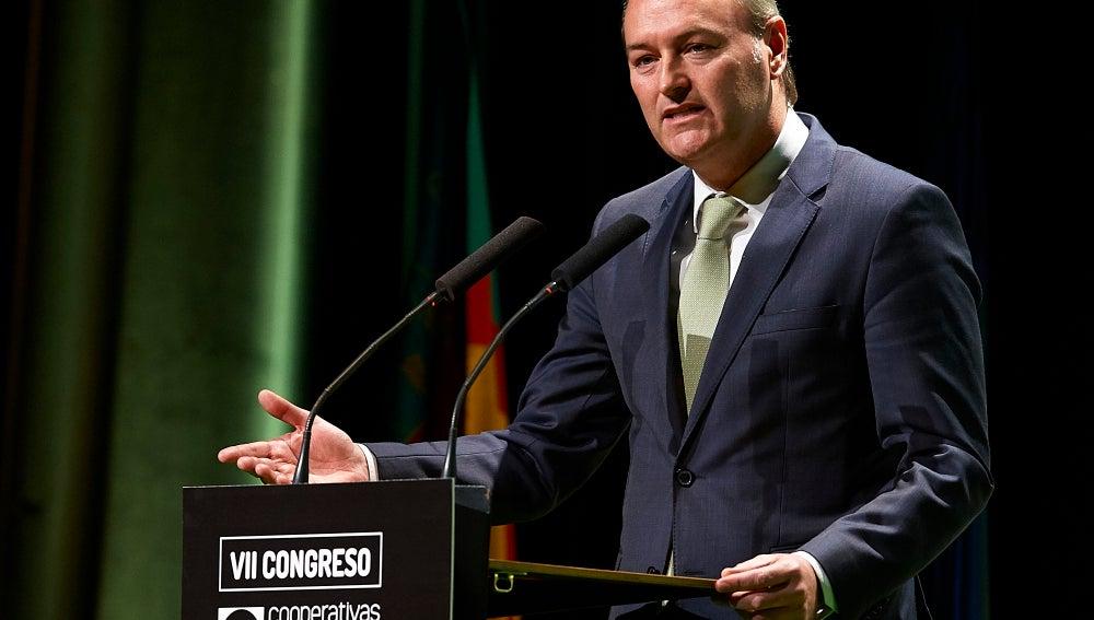 Alberto Fabra, expresidente de la Generalitat de Valencia
