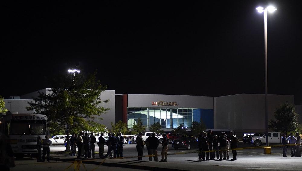 Cine de Luisiana donde tuvo lugar el tiroteo