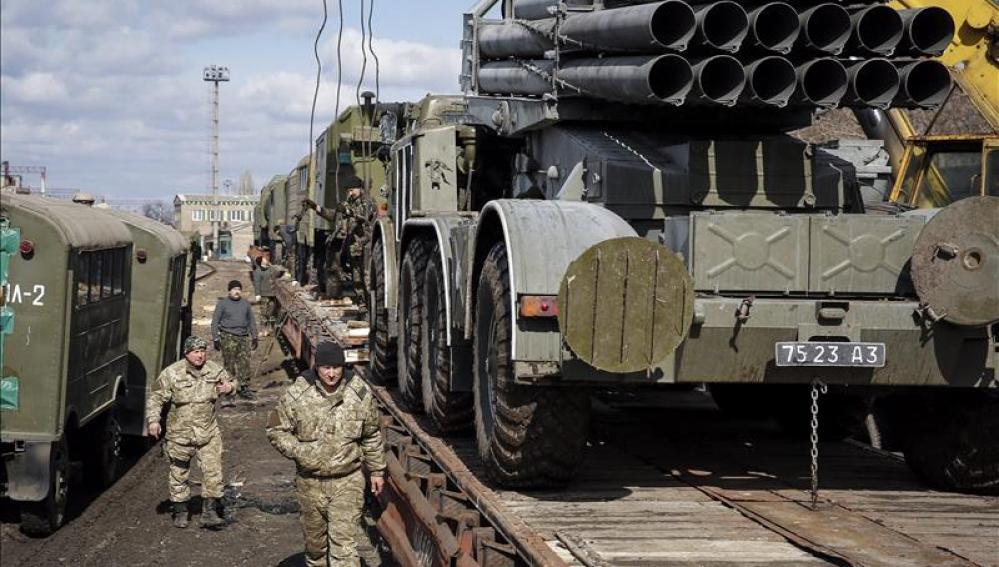 300 oficiales estadounidenses entrenan en el oeste ucraniano