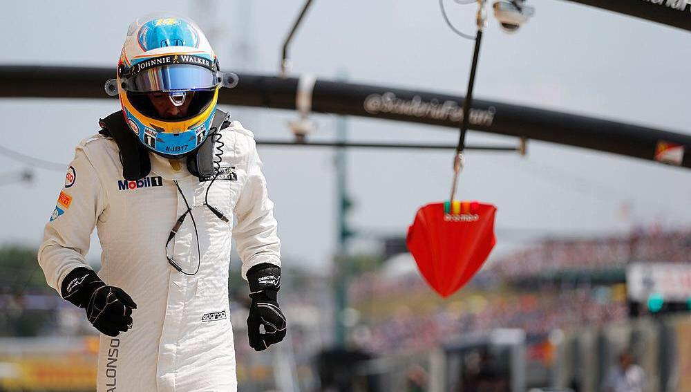 Alonso, quinto en Hungaroring