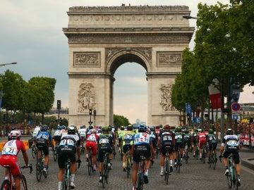 El Tour de Francia llega a París