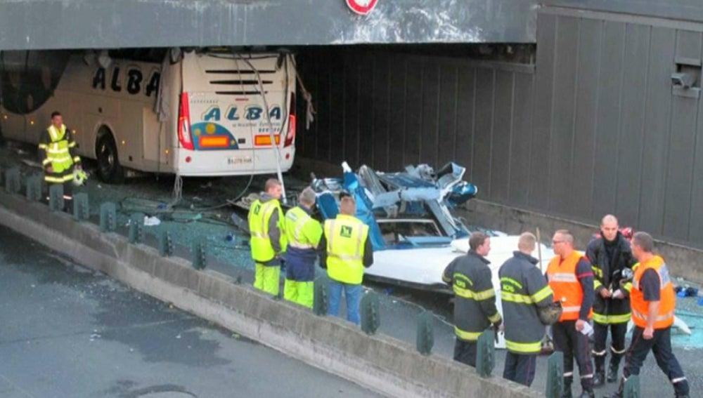 Accidente de autobús en Lille