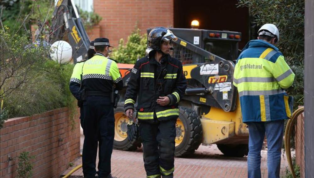 Once heridos en una explosión de gas en Begues
