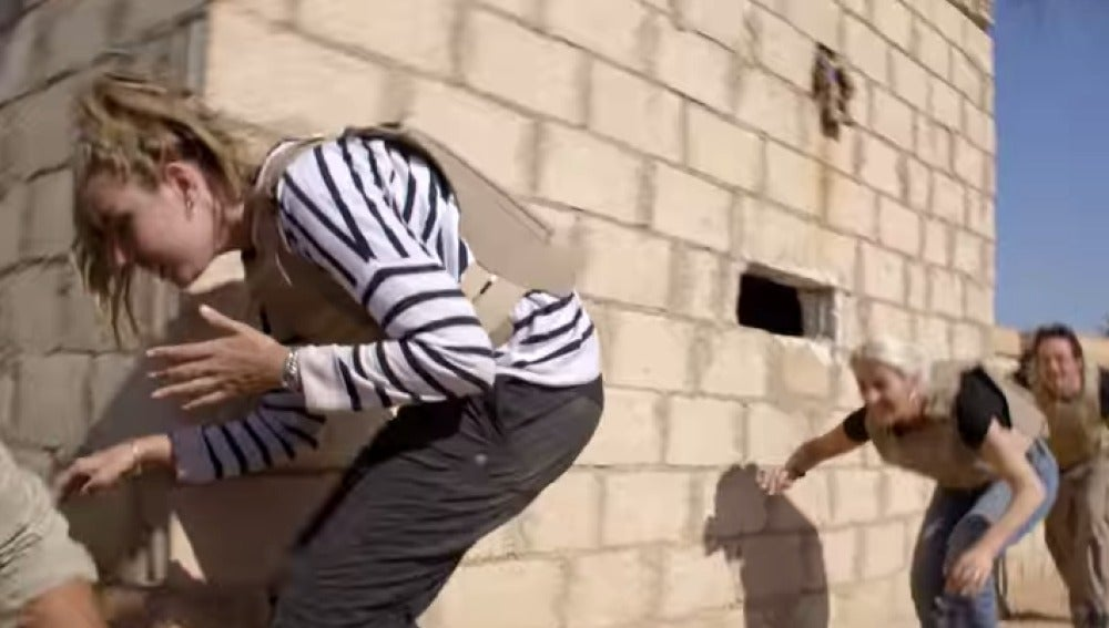 Imágenes de los concursantes en Siria