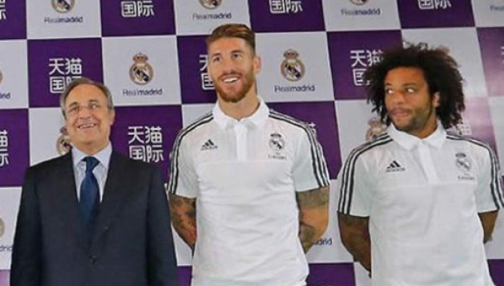 Ramos se reencuentra con Florentino.