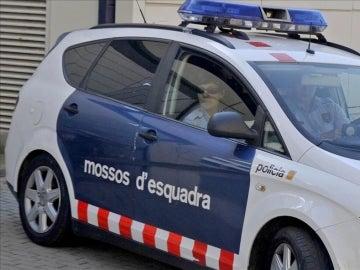 Un coche de los Mossos d'Esquadra