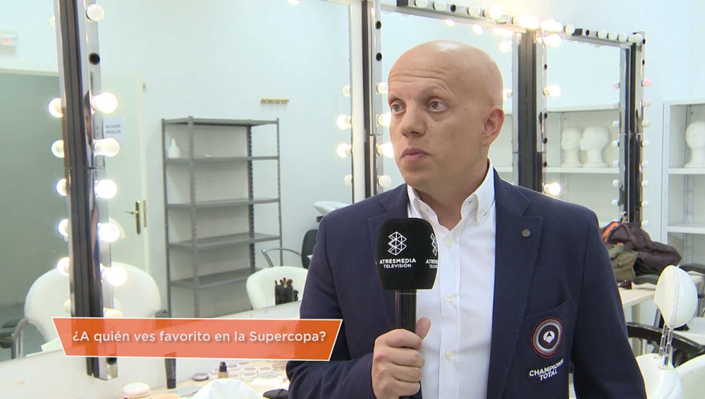 Marcos López, comentarista del equipo Champions Total
