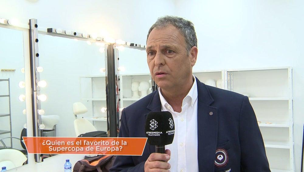 Caparrós, uno de los comentaristas del equipo Champions Total