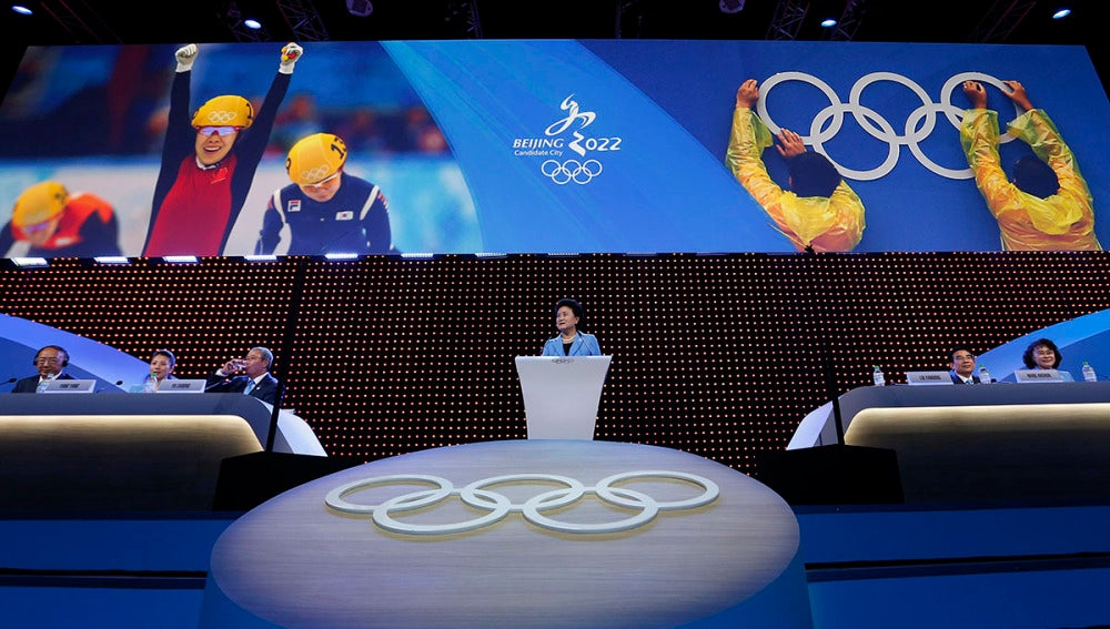 Pekín acogerá los Juegos Olímpicos de 2022