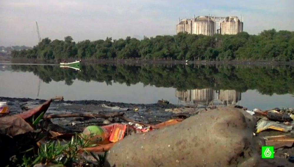Las aguas de Rio de Janeiro, totalmente contaminadas