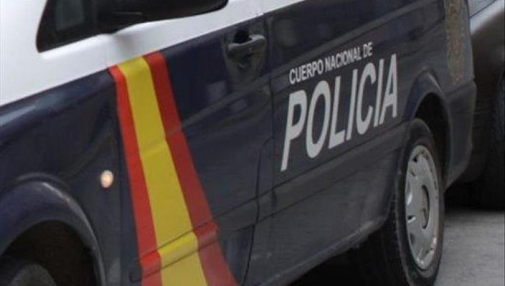 Imagen de un coche del Cuerpo Nacional de Policía