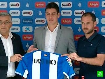 Enzo Roco, nuevo jugador del Espanyol