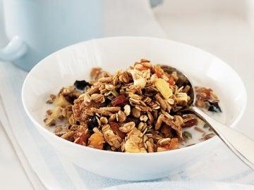 Desayuno de muesli