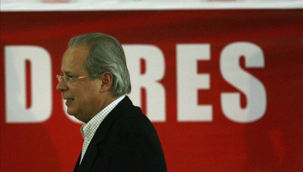 El exministro brasileño José Dirceu