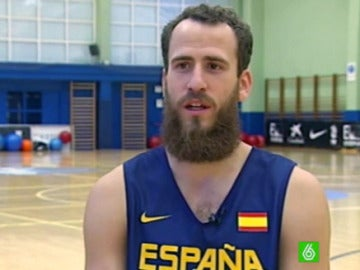 Sergio Rodríguez, en su entrevista con laSexta