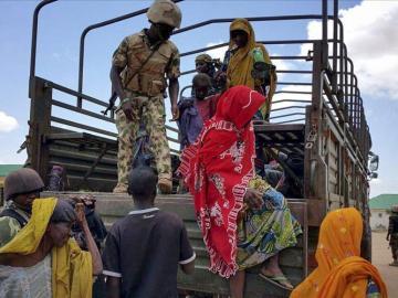 Nigerianos rescatados de campos de Boko Haram