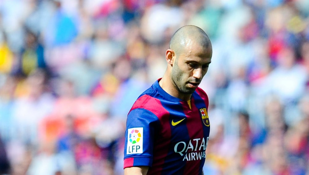 Javier Mascherano cuarto capitán de FC Barcelona