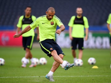 Javier Mascherano cuarto capitán del Barça