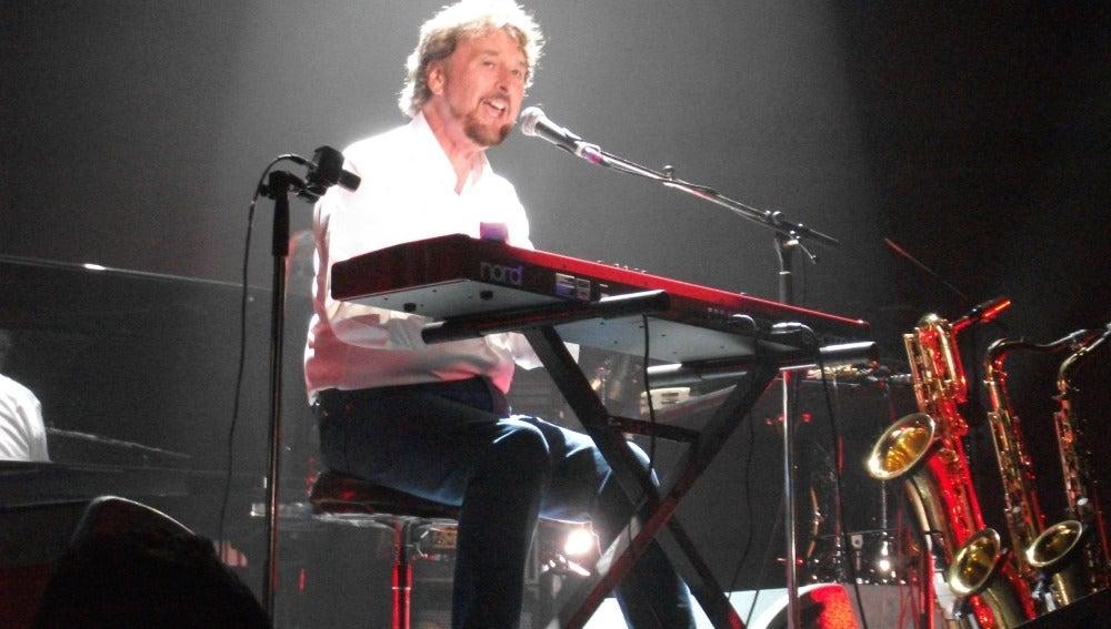 Rick Davies en concierto