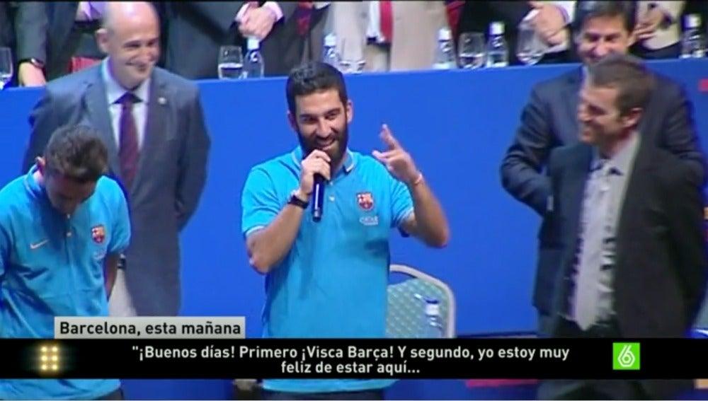 Arda Turán, jugador del FC Barcelona