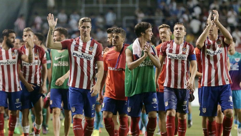 Atlético de Madrid, en la gira asiática