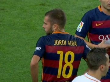Jordi Alba, se lesiona y se pierde la Supercopa de Europa
