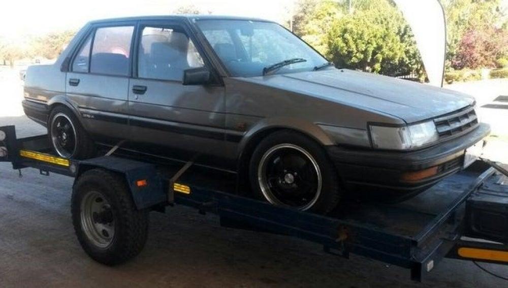 Coche robado hace 22 años en Sudáfrica