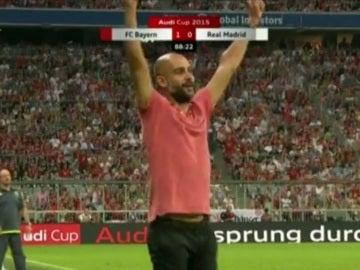 Pep Guardiola, entrenador del Bayern