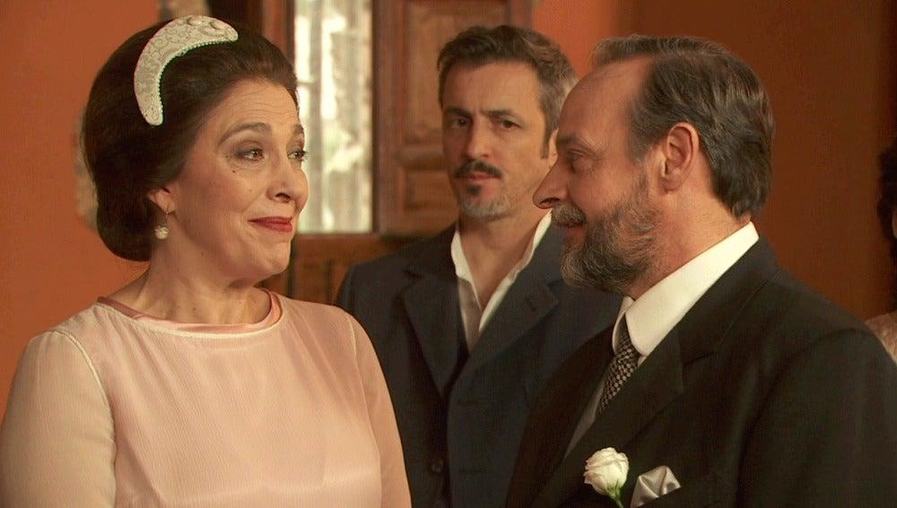 """Francisca y Raimundo se dan el """"sí, quiero"""""""