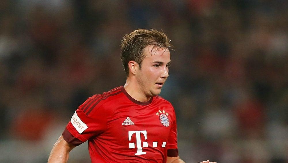 Mario Gözte jugador del Bayern de Múnich