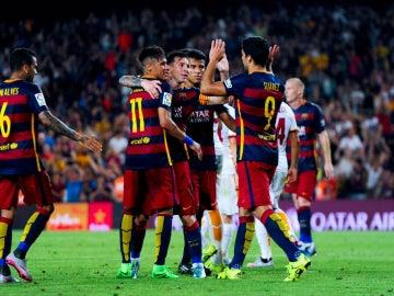 El FC Barcelona gana el Joan Gamper frente a la Roma