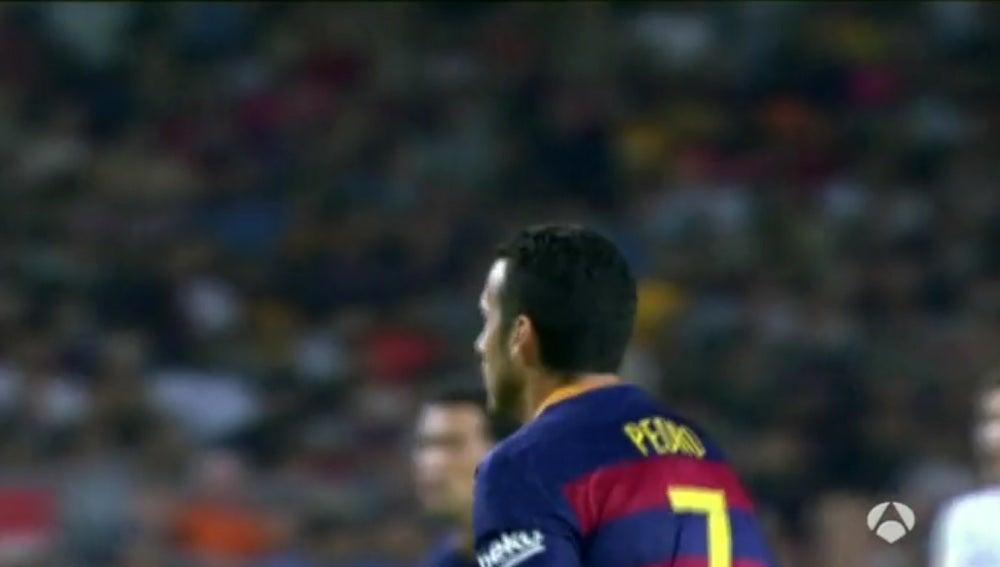 Pedro Rodríguez, jugador del FC Barcelona