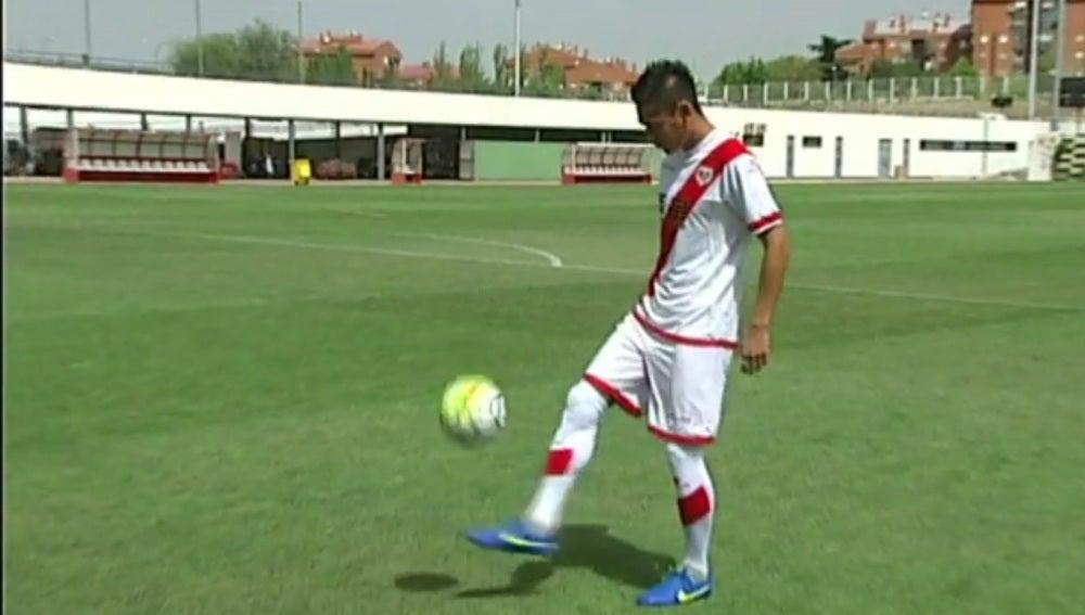 Zhang Chengdong, jugador del Rayo Vallecano