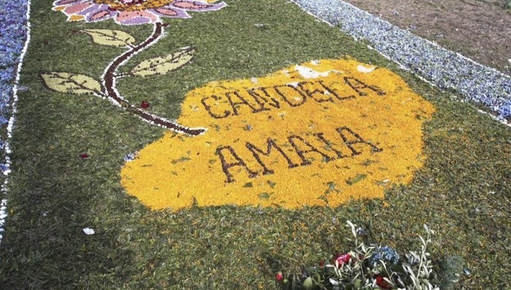 Homenaje a Candela y Amaia