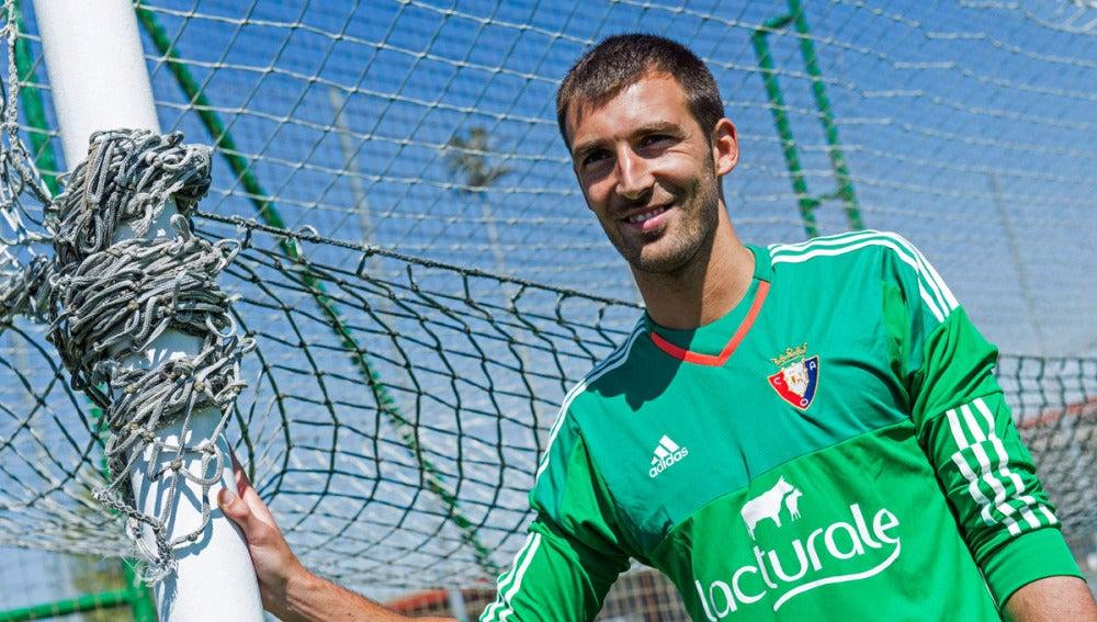 Mario Fernández, nuevo portero de Osasuna