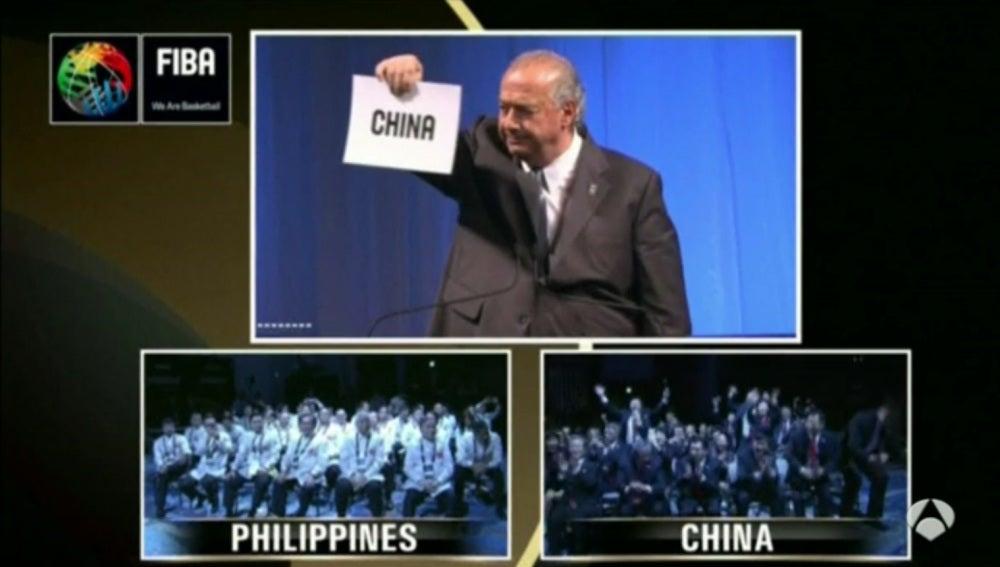 China, sede del Mundial de baloncesto 2019
