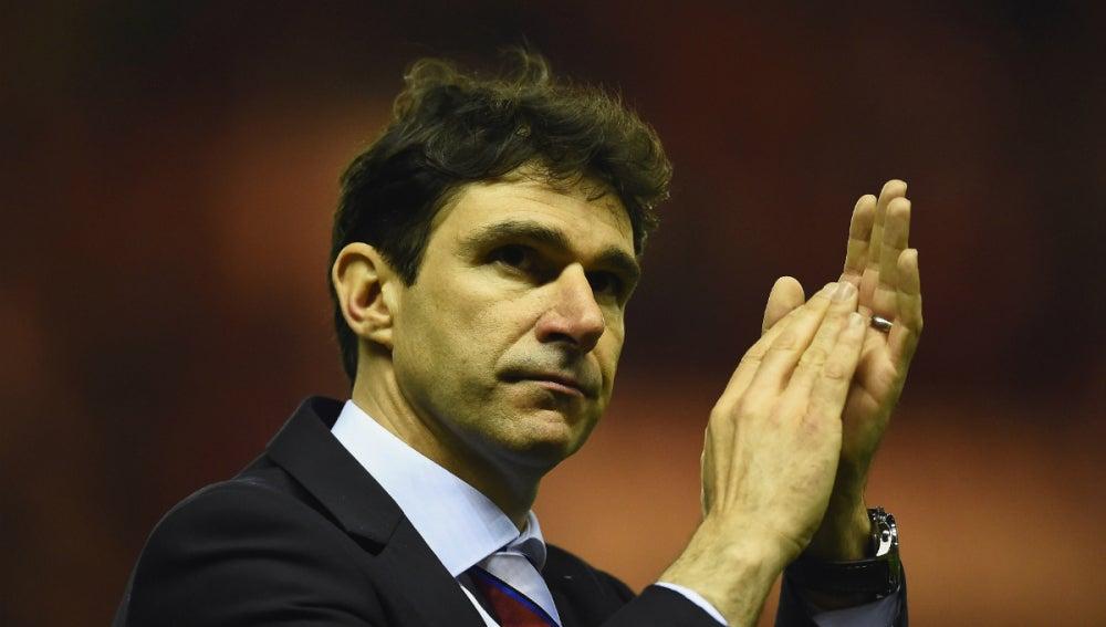 Aitor Karanka, técnico del Middlesbrough